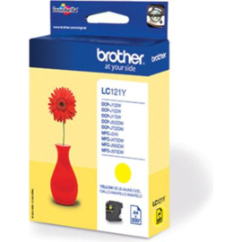 BROTHER LC121 Yellow origineel