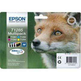 EPSON T1285 B/C/M/Y 4-pack origineel