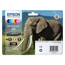 EPSON 24 T2428 Multipack B/C/M/Y/LC/LM