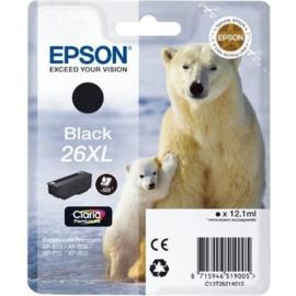 EPSON 26XL Black origineel