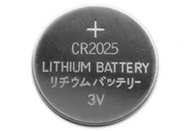 Batterij knoopcel CR2025
