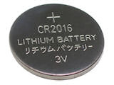Batterij knoopcel CR2016