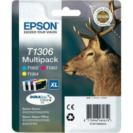 EPSON T1306 C/M/Y 3-pack origineel