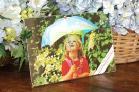 Plexiglas fotolijstje liggend 10x15cm