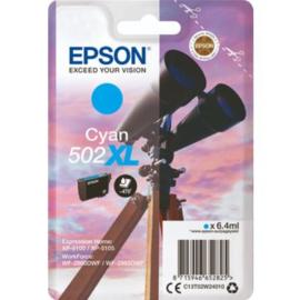 EPSON 502XL Cyan origineel