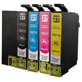 EPSON 27XL Black/Cyan/Magenta/Yellow Multipack huismerk