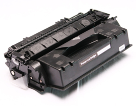 HP CE505X Black huismerk