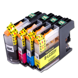 BROTHER LC223 Black/Cyan/Magenta/Yellow Multipack huismerk