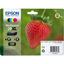 EPSON 29XL B/C/M/Y 4-pack origineel
