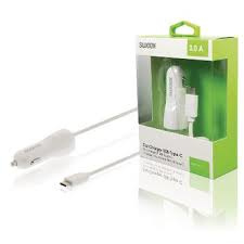 NEDIS Car Charger 3.0A USB-C