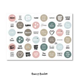 Stickervel | Cadeaustickers #6