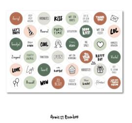 Stickervel | Verjaardag