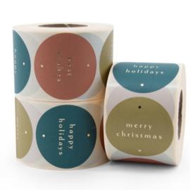 Sticker multi | Happy holiday | 6 stuks