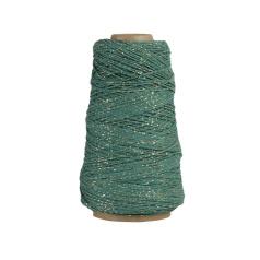 Cotton koord | Zeegroen/goud