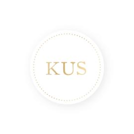Sticker   Kus   5 stuks