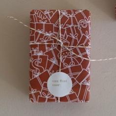 Inpakpapier | Where is sinterklaas | Roest