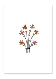 Kaart | Bosje bloemen
