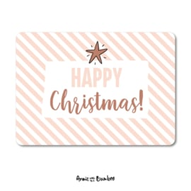 Kaart | Happy Christmas