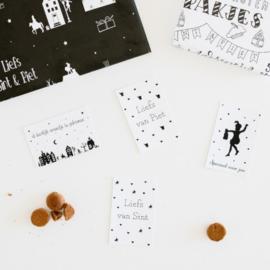Minikaartjes | Set van 4