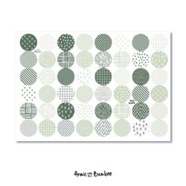 Stickervel | Groen #2