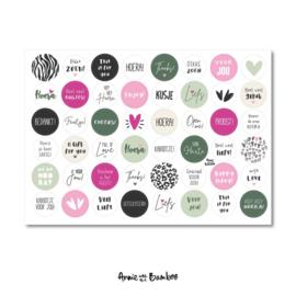Stickervel | Cadeaustickers #9