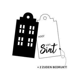 Label | Gevel, voor van Sint | 2 stuks