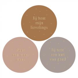 Sticker multi   liefde - 6 stuks