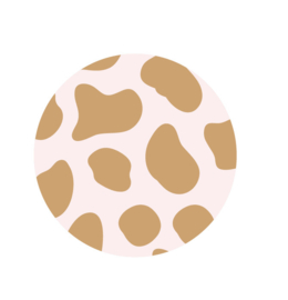 Sticker | Cheetah pink | 5 stuks