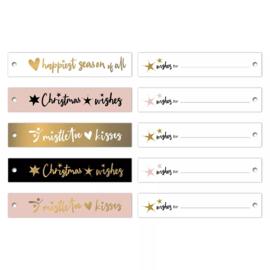 Labels | Wishes | 5 stuks