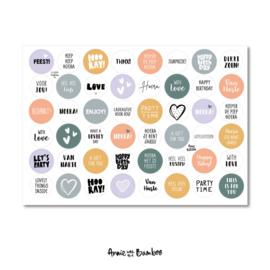 Stickervel | Cadeaustickers #7