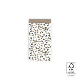 Small confetti | Taupe | S - 5 stuks