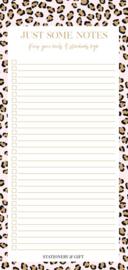 Notitieblok | Leopard notes