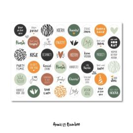 Stickervel | Cadeaustickers #2
