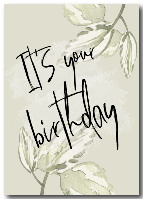 Kaart | It's your birthday