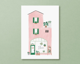 Kaart 'plantenwinkel'