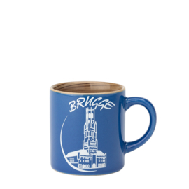 Espresso bag Bruges - Blue - 2 designs