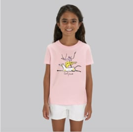T-Shirt Kids - Girl Power - Pink