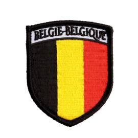 Badge België Wapen - Vlag
