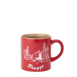 Espresso bag Bruges - Red - 2 designs