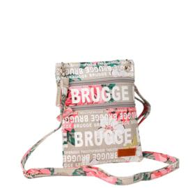 Passport tas Bloemen Brugge - Beige - Robin-Ruth