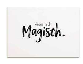 Kaart Maak het magisch