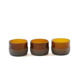 "Multifunctional bowls ""Brown"""