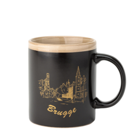 Bruges Cup - Matt Black / Gold - 2 Designs