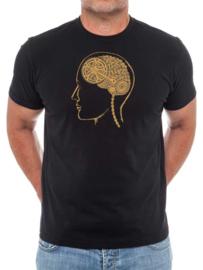 BIKE BRAIN (Black) T-Shirt - Cycology Gear