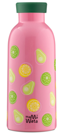 Insulated Bottle + Infuser Lid - Fruits - Mama Wata