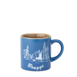 Espresso tas Brugge - Blauw - 2 ontwerpen