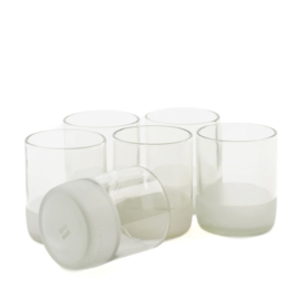 """Drinking glasses set """"Clear"""" - Small"""