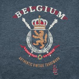 Sweater Wapenschild Belgium - Grijs