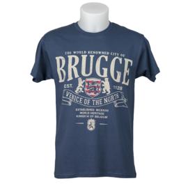 T-shirt Brugge - Denim