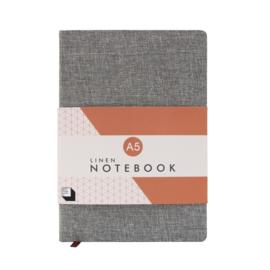 Linen Notebook A5 - Slate - SUCK UK